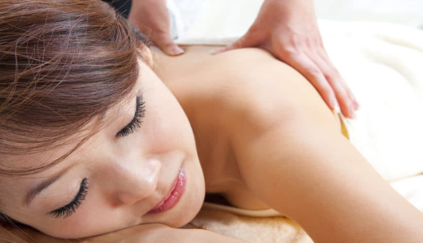 Back massage manchester